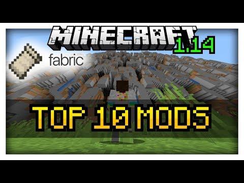 TOP 10 Mods for Minecraft 1.14 | Fabric Modloader