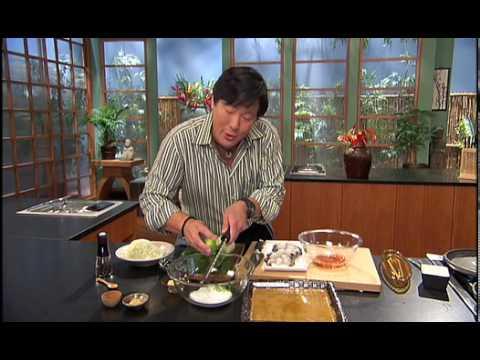 Anolon with Ming Tsai: Jumbo Shrimp Saute with Sriracha Marinade