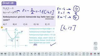 Eğitim Vadisi 11.Sınıf Matematik 9.Föy İkinci Dereceden Fonksiyonlar ve Grafikleri 3 Konu Anlatım Videoları