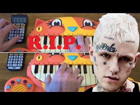 LIL PEEP - BENZ TRUCK (TRIBUTE R.I.P.) ON 3 CAT PIANOS AND A DRUM CALCULATOR