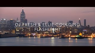 DJ Fresh & Ellie Goulding - Flashlight [Music Video]