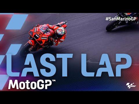 MotoGP 2021 第14戦サンマリノ 決勝レースのラストラップ動画