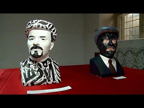 العرب اليوم - شاهد: معرض روسي يحيي ذكرى الزعيم السوفييتي لينين بطريقة مبتكرة