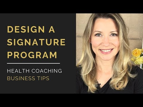 Create Health Coaching Programs That Sell