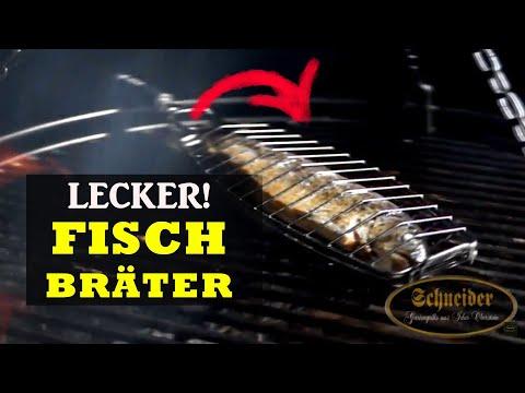 Fischbräter aus Edelstahl