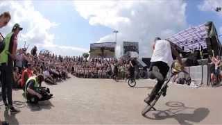 Roskilde Festival BMX Flatland Show RF15 Denmark