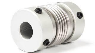LB/DB Series 6-18mm Aluminum Alloy Full Encoder Coupling - OD38mm* L60mm