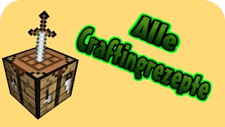 Minecraft Zaun Rezept Minecraft Alle Crafting Rezepte