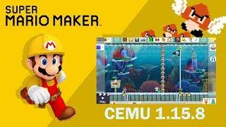cemu super mario maker gameplay - Kênh video giải trí dành cho thiếu