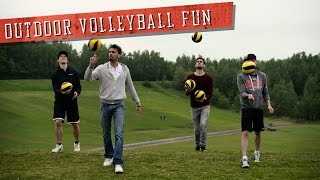 Outdoor volleyball fun! | Sons of Gravity (Tomorrowland location in Boom)