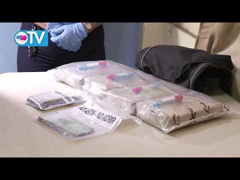 Policía Nacional captura a tres delincuentes por tráfico de drogas y crimen organizado en Managua