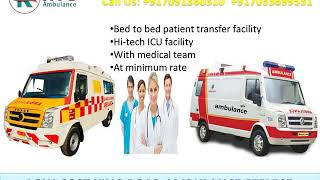 Cost-Effective Ambulance Service in Kankarbagh and Danapur Patna by King