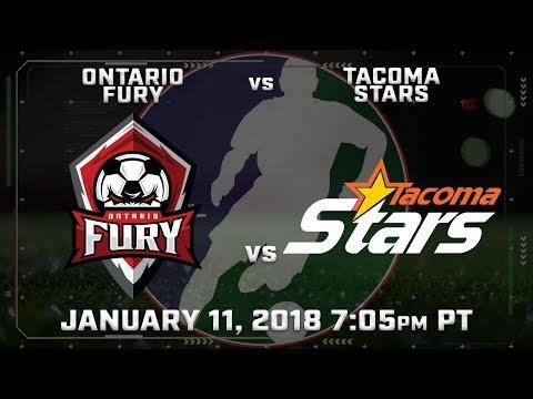 Ontario Fury vs Tacoma Stars