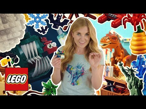 Amazing Animal Facts! Easy learning fun facts about crocodiles, rats, fish & more! LEGO stop motion