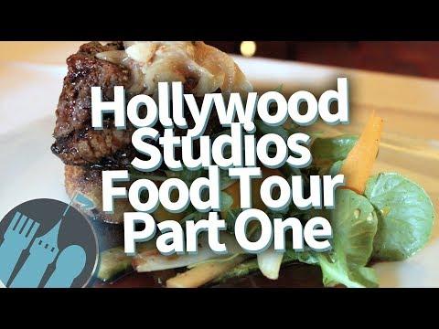 Disney World's Hollywood Studios FOOD TOUR! Part 1