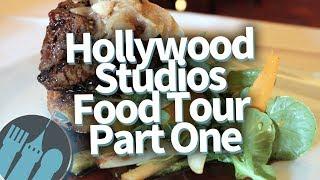 Disney Worlds Hollywood Studios FOOD TOUR! Part 1