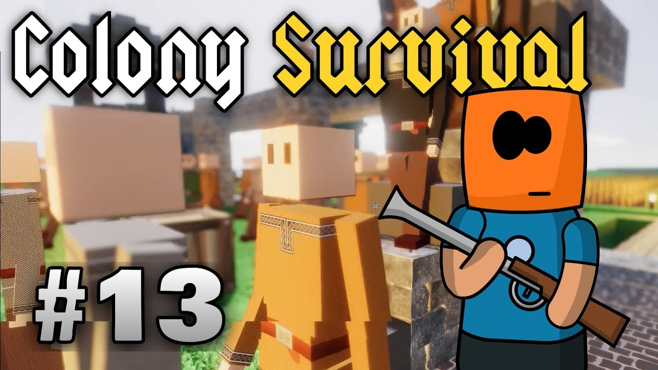 Colony Survival ep13 | Matchlock Guard