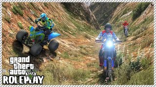 GTA 5 Roleplay - 'SKETCHY' Quad & Dirt Bike Mountain Offroad Trip | RedlineRP #276