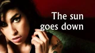 Amy Winehouse - Tears Dry On Their Own (Lyrics)