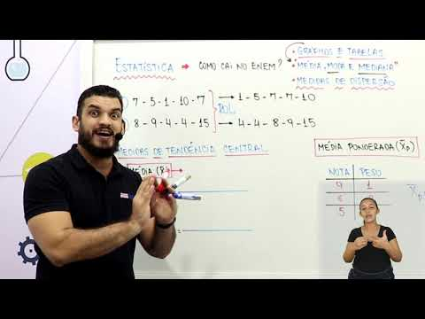 Aula 12 | Estatística - Parte 03 de 03 - Exercícios Resolvidos - Matemática