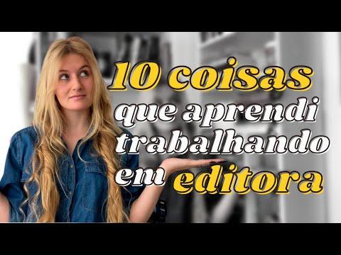 10 COISAS QUE APRENDI TRABALHANDO EM UMA EDITORA | Laura Brand