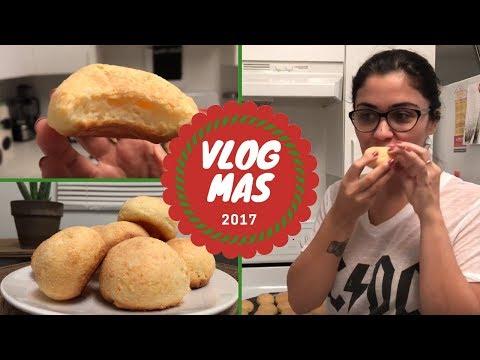 🎄RECEITA DE PÃO DE QUEIJO FIT | VlogMas 2017