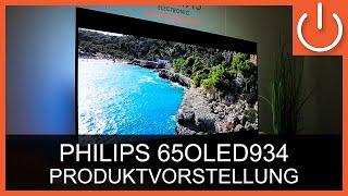 """Philips 65OLED934 Produktvorstellung Thomas Electronic Online Shop 65"""" 934/12 4K OLED TV"""