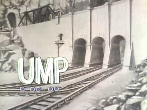 Classic Sesame Street animation - J train