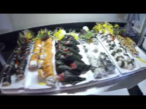 Lunch buffet @ Luxury Bahia Principe Sian Kaan, Riviera Maya, Mexico