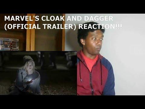 MARVEL'S CLOAK & DAGGER (OFFICIAL TRAILER) - REACTION!!!!!