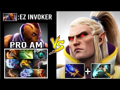 EPIC SumiYa Invoker God vs PRO Anti-Mage 200 IQ SunStrike Combo Craziest Gameplay 99% Dota 2