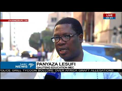 MEC Education Panyaza Lesufi on the effects of SAFTU strike on education