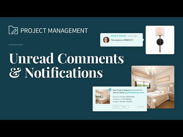 Unread Comments & Notifications
