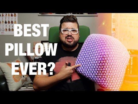 BEST PILLOW - PURPLE PILLOW REVIEW