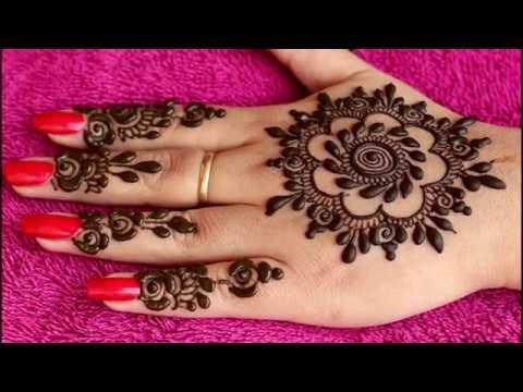 Download Mandala Circle Style Henna Design Or Mehndi Design