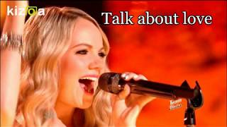 Danielle Brabery - Talk About Love Lyric Video