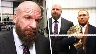 EXCLUSIVE! Triple H opens first UK WWE Performance Centre!