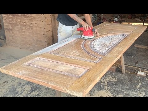 Ingenious Woodworking Skills and Techniques of Talented Young Carpenters - Doors Full Video Tutorial