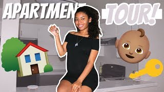 My Unfurnished APARTMENT TOUR & NURSERY!
