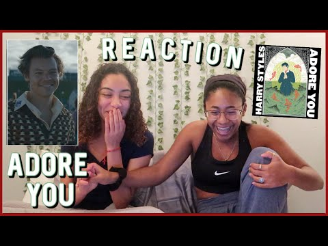 ADORE YOU- HARRY STYLES MUSIC VIDEO REACTION