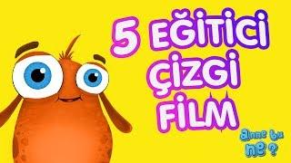 Eğlenceli 5 Eğitici Çizgi Film | Okul Öncesi Eğitici Çizgi Film | Anne Bu Ne?