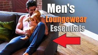 5 Mens Must Haves To CHILL In Style | Mens Loungewear Essentials