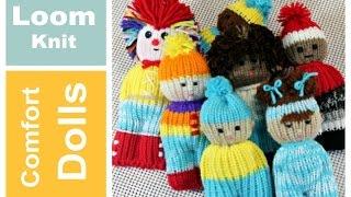 LOOM KNIT Comfort Dolls Izzy Duzuza Pocket Pal | Telar Redondo | Strickring | Tricotin | نول | 圆形针织猫