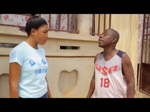 father and daughter  A SHORT GHANAIAN AKAN TWI KUMAWOOD 2018 LESSON AND EDUCATION FILM