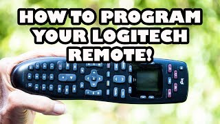 Setup and Program Logitech Remote Control to ANY Device!
