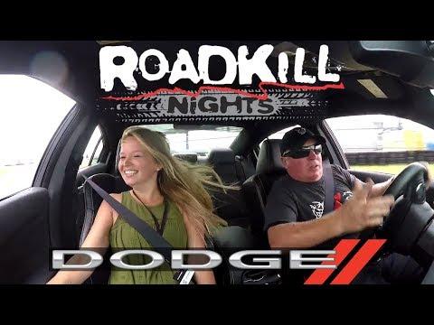 LEGAL DRAG RACING! Roadkill Nights 2019 Powered by Dodge | Pontiac, MI