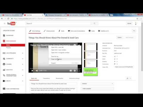 Youtube Beginners Guide To A Successful Channel - Linking Channel with Adwords Account 2