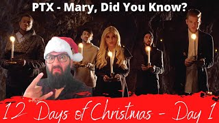 """Pentatonix - """"Mary, Did You Know?""""   Metalhead's First Time Hearing!"""