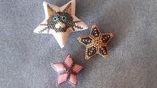 Como Hacer Una  Estrella 3d Peyote  Herringbone  1  Parte