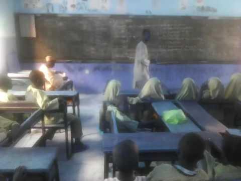 A clip from ECCD Class at Furfuri Primary School Zamfara